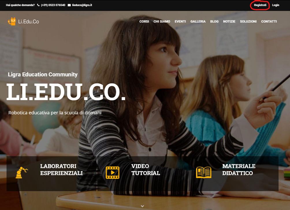 La Community di Ligra Education dedicata agli insegnanti