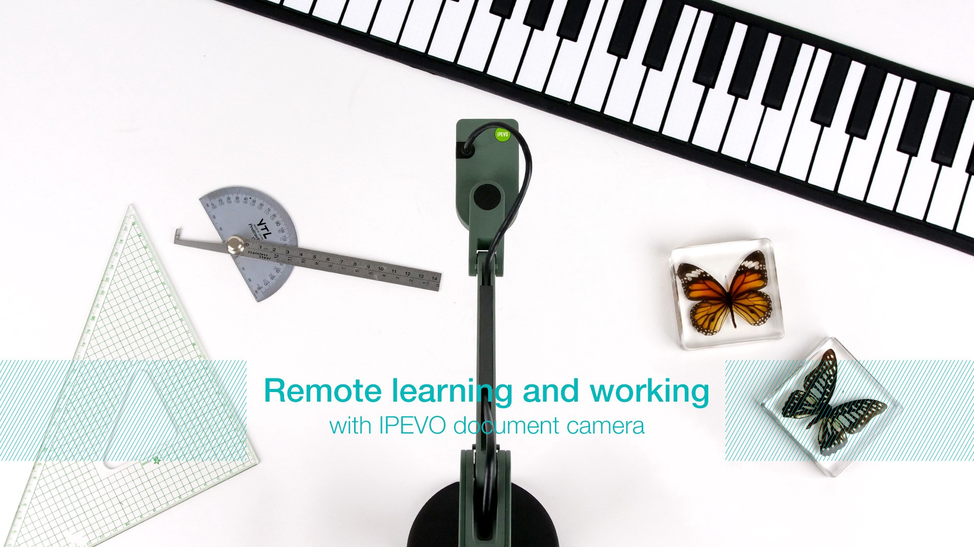 Ipevo Document camera e Lenovo tablet