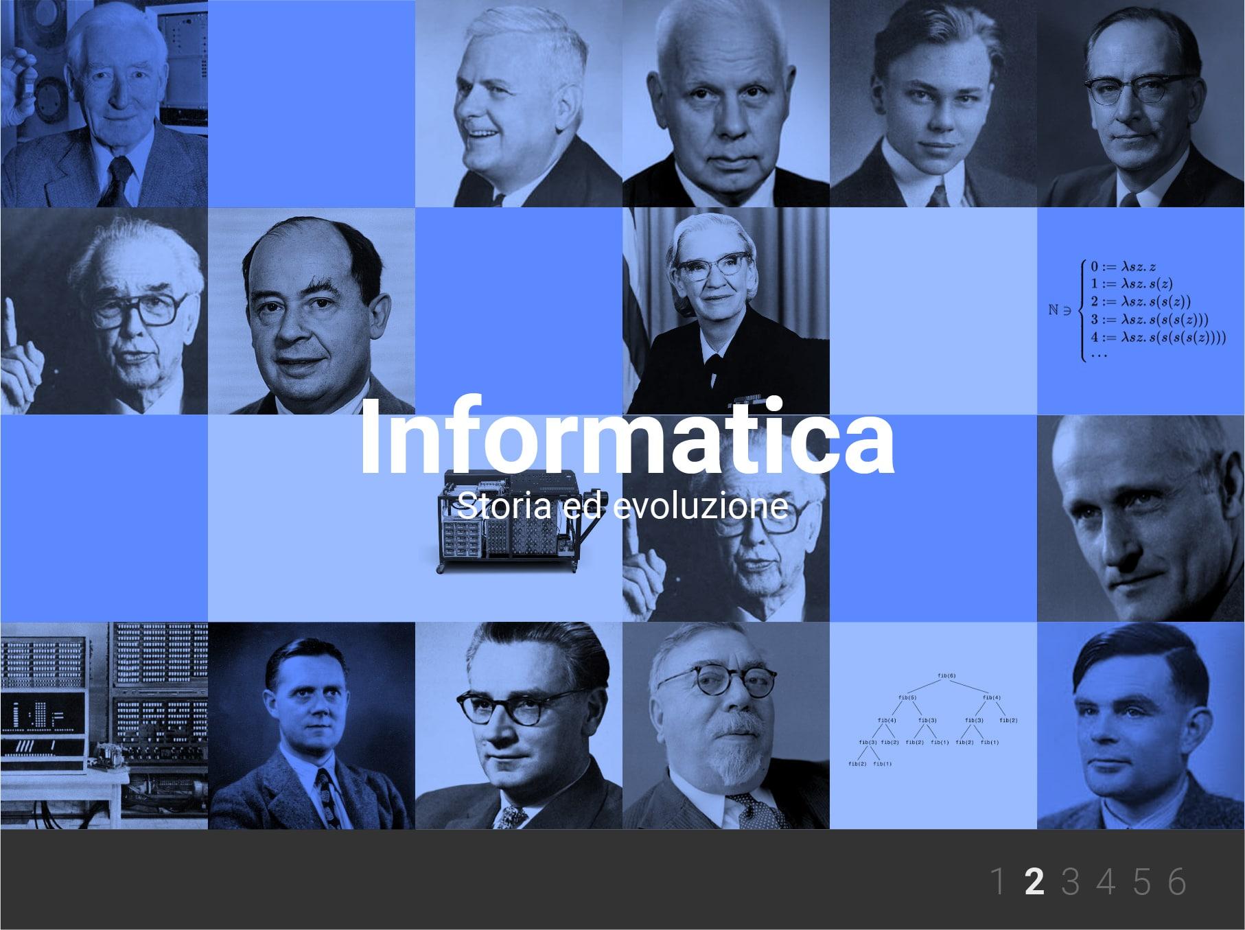 Li.Edu.Co. | La Storia dell'Informatica: secondo approfondimento